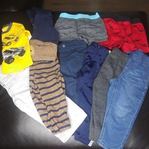Baby boy bundle size 18M